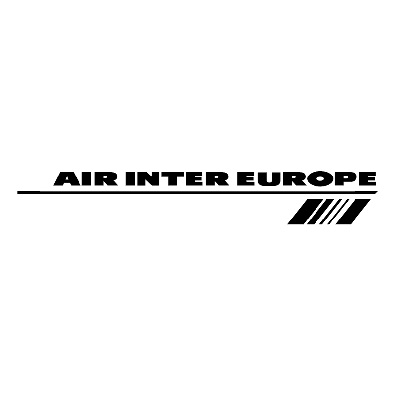 Air Inter Europe 47240 vector logo