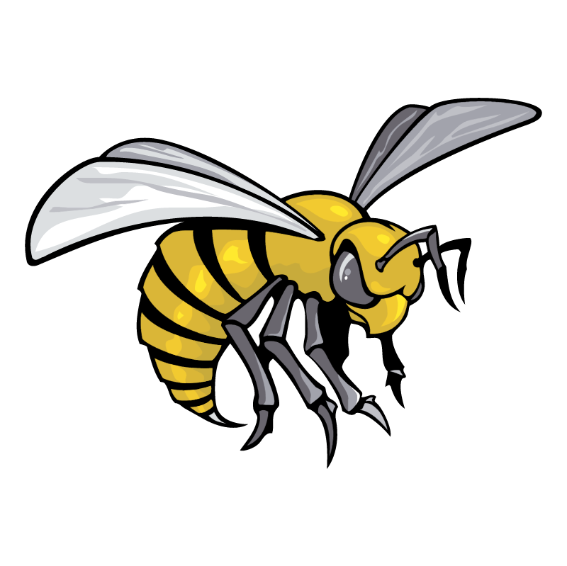 Alabama State Hornets 75970 vector