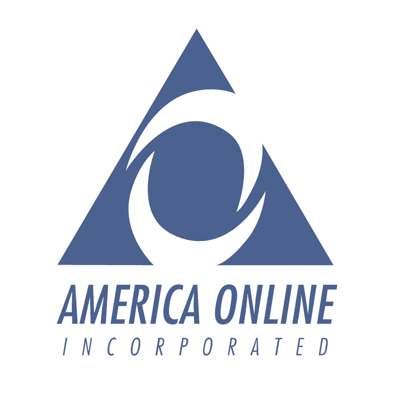 America Online Incorporated vector