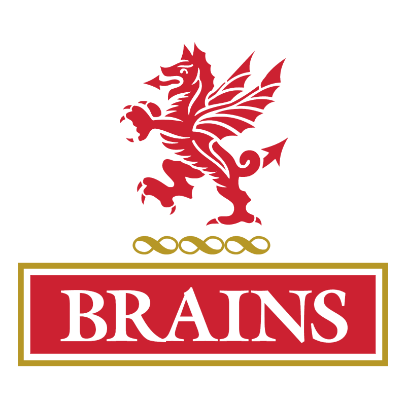 Brains Brewery vector