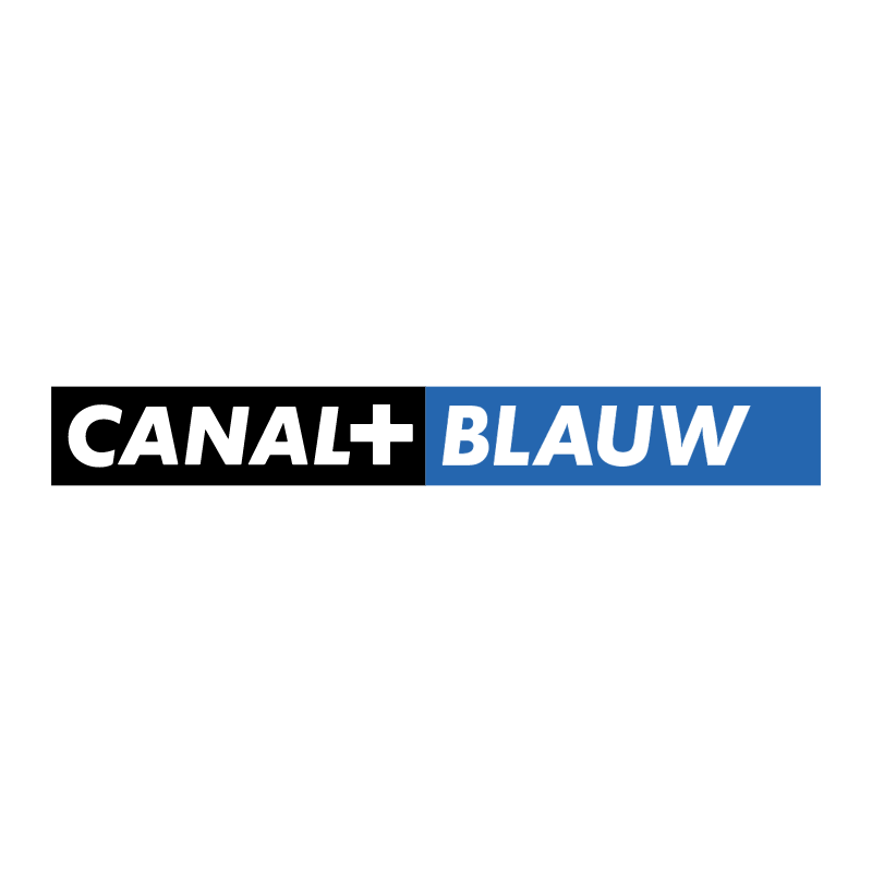 Canal+ Blauw vector
