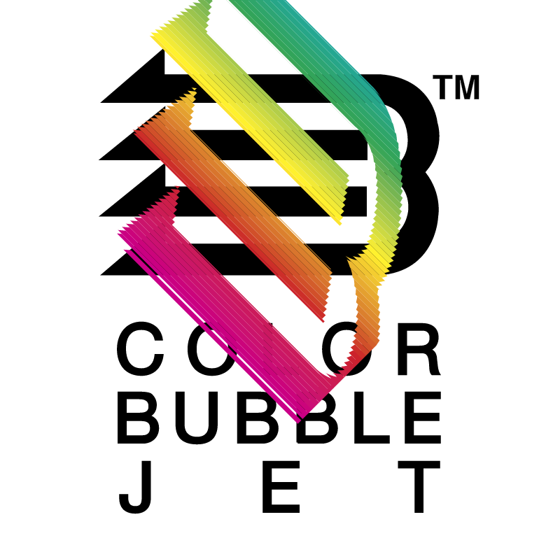 Color Bubble Jet vector