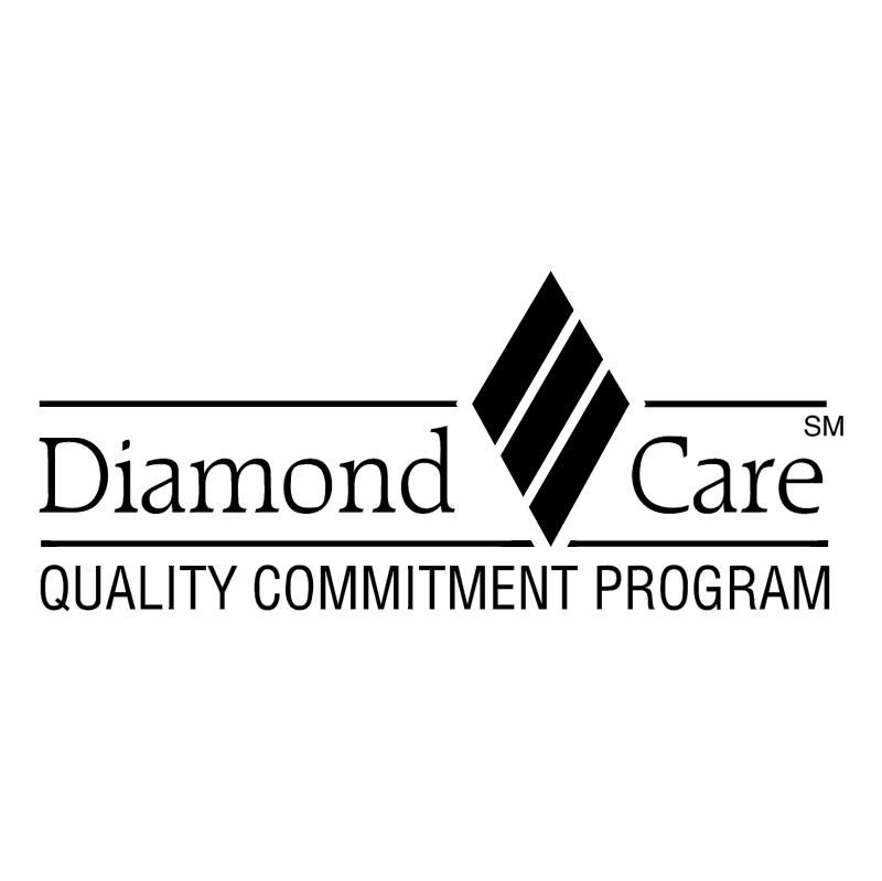 Diamond Care vector