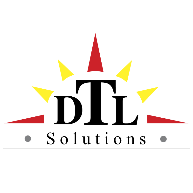 DTL Solutions vector logo
