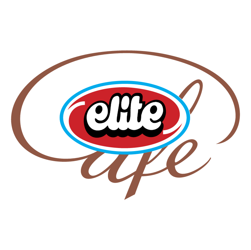 Elite Cafe vector logo