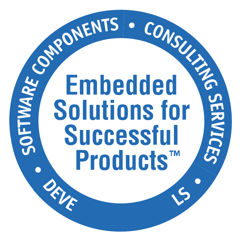 Embedded Solutions fot Successful Products vector