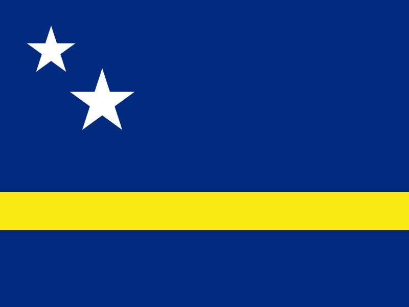 Flag of Curaçao vector