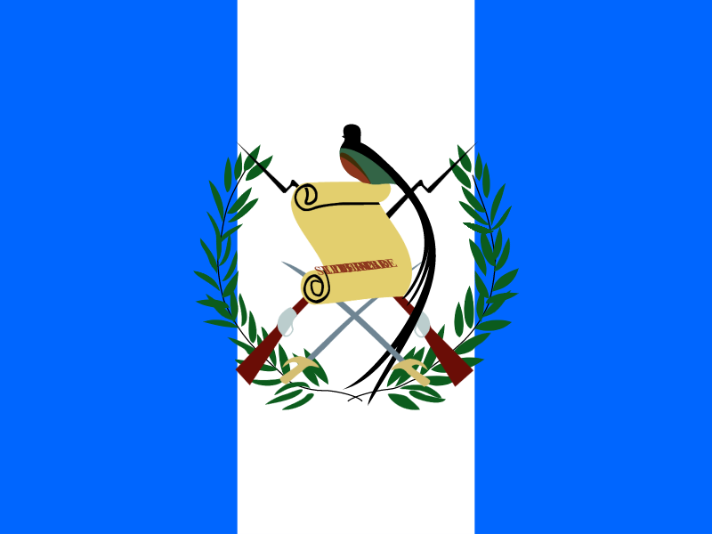 Flag of Guatemala vector logo