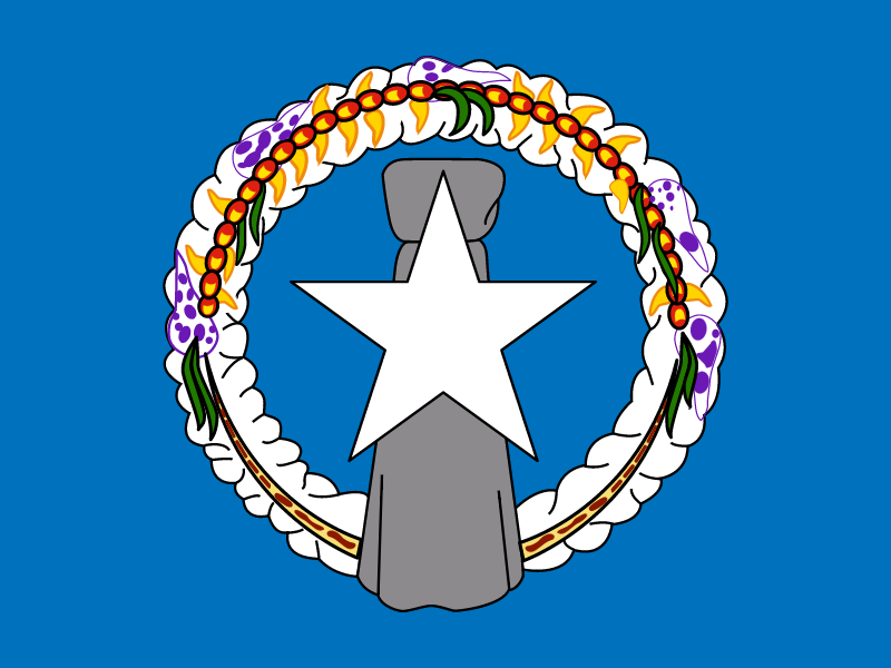 Flag of Northern Mariana Islands vector