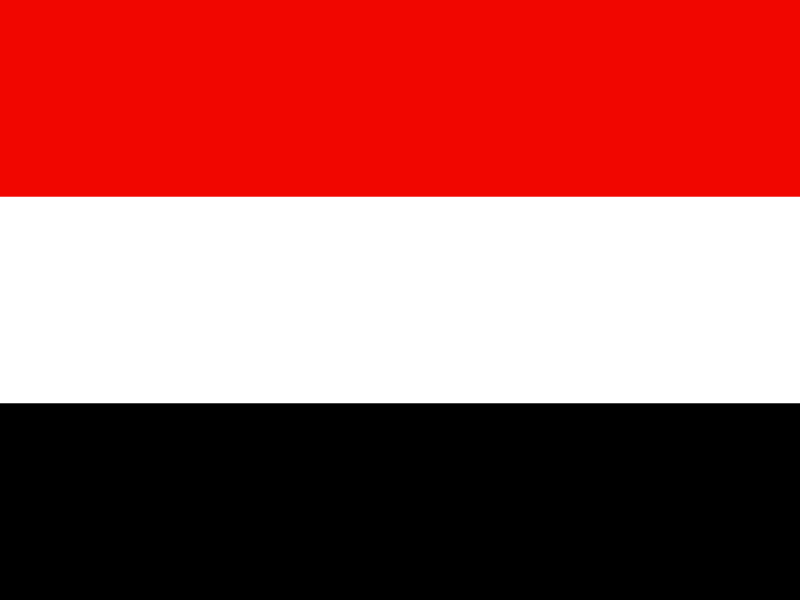 Flag of Yemen vector