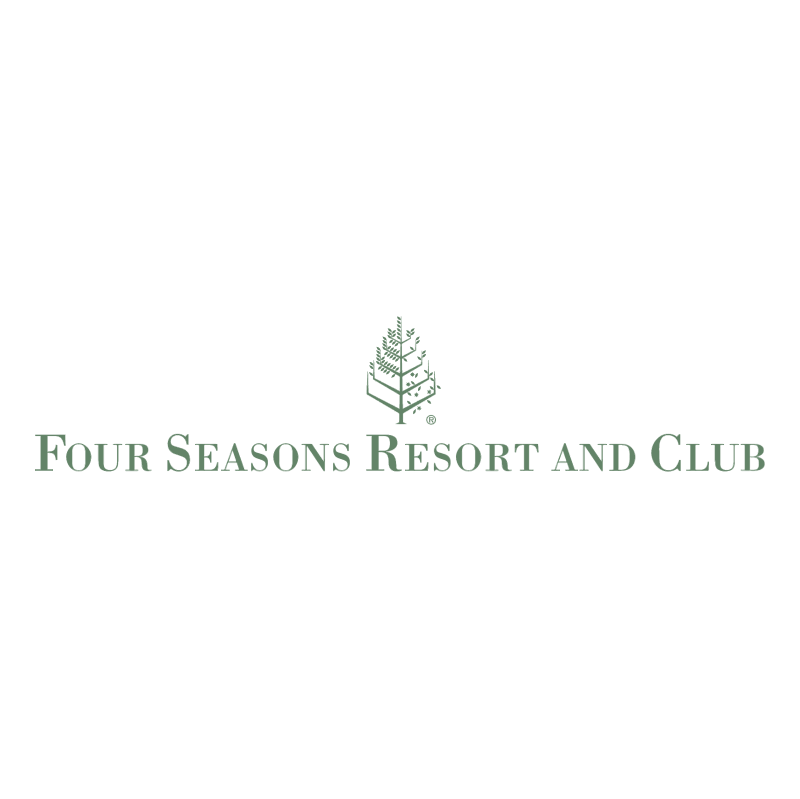 Four Seasons Resorts and Club vector