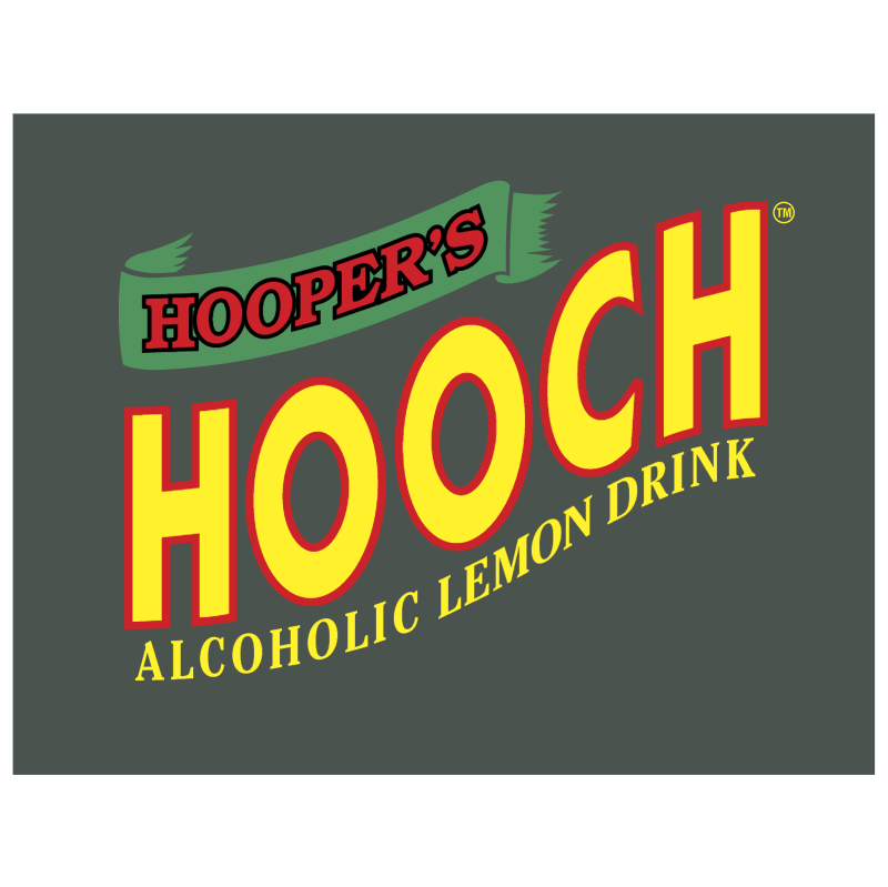 Hooch Lemon vector logo