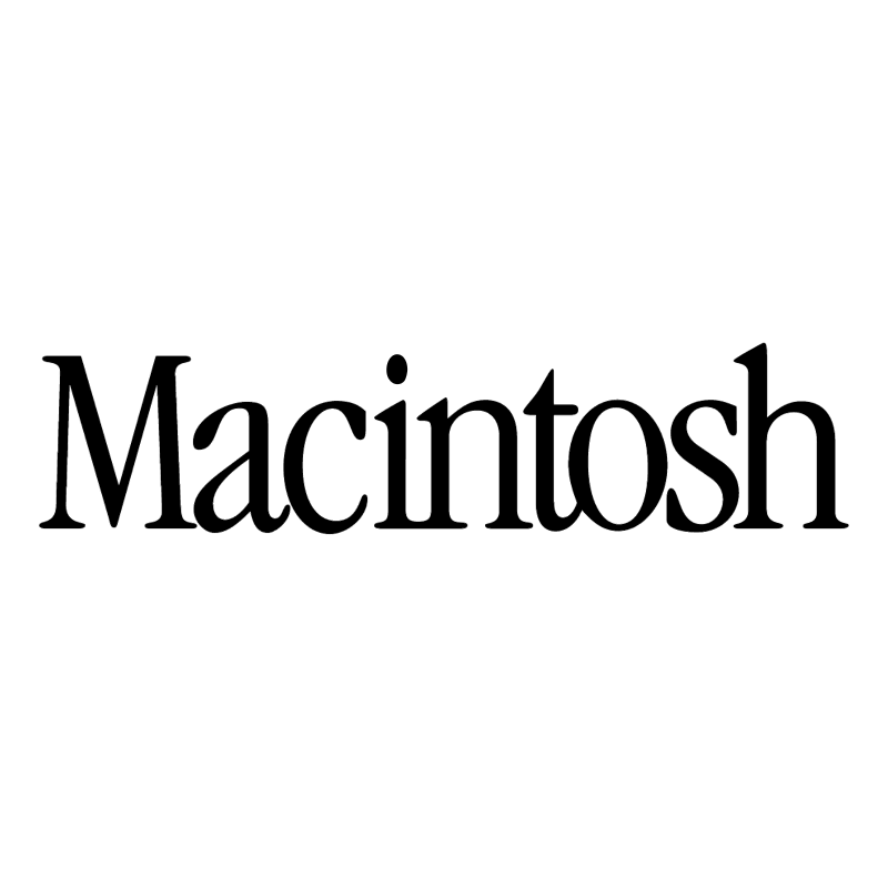 Macintosh vector logo
