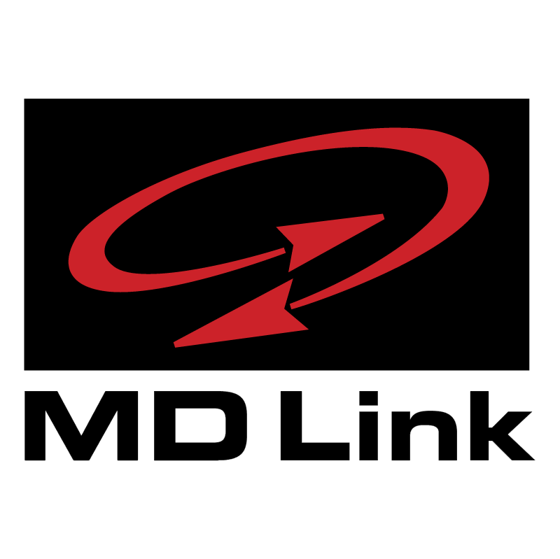 MD Link vector logo