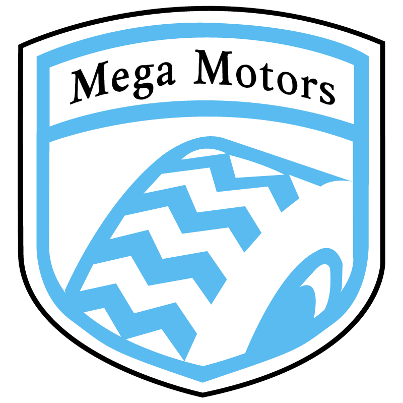 Mega Motors vector logo