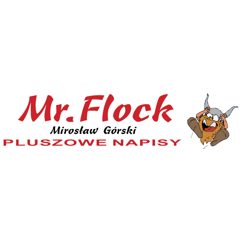 Mr Flock logo