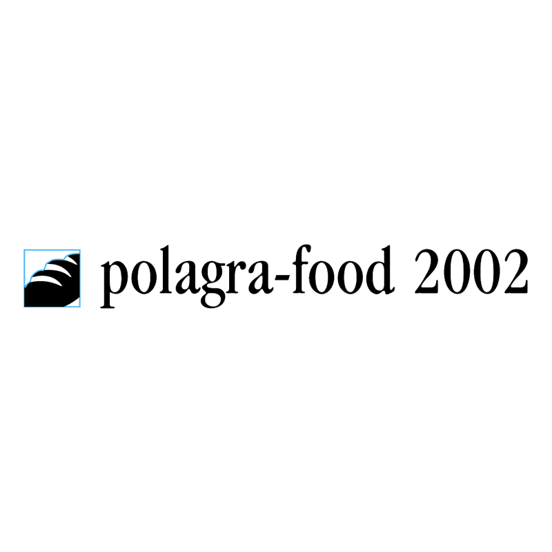 Polagra Food 2002 vector logo