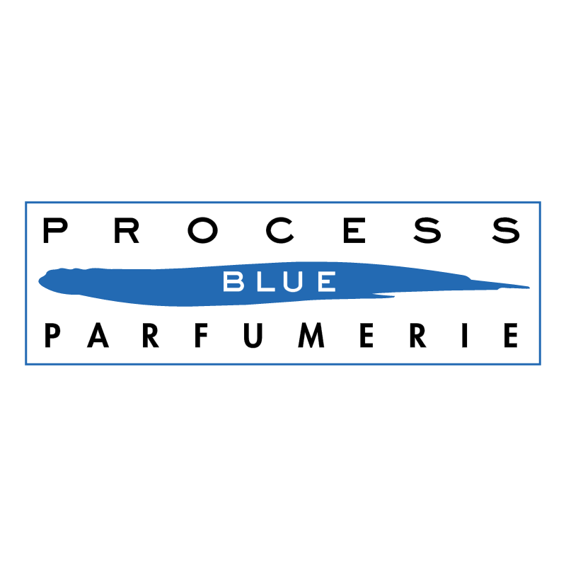 Process Blue Parfumerie vector logo