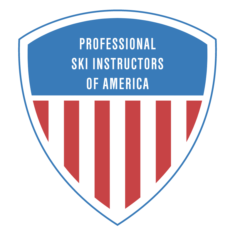Professional Ski Instructors of America vector