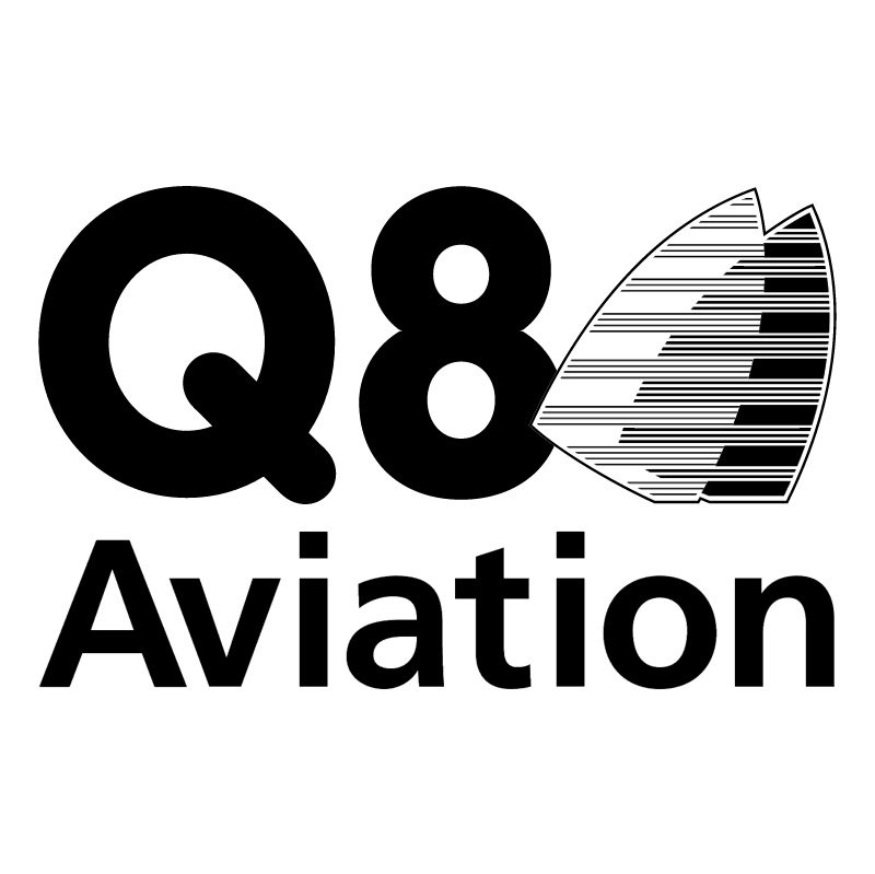 Q8 Aviation vector
