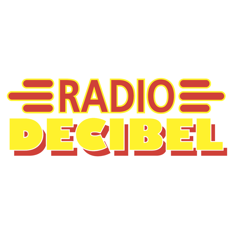 Radio Decibel vector logo
