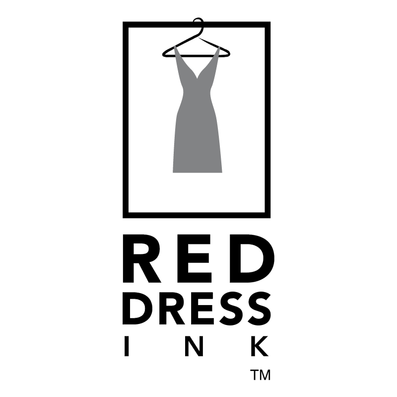 Red Dress Ink vector