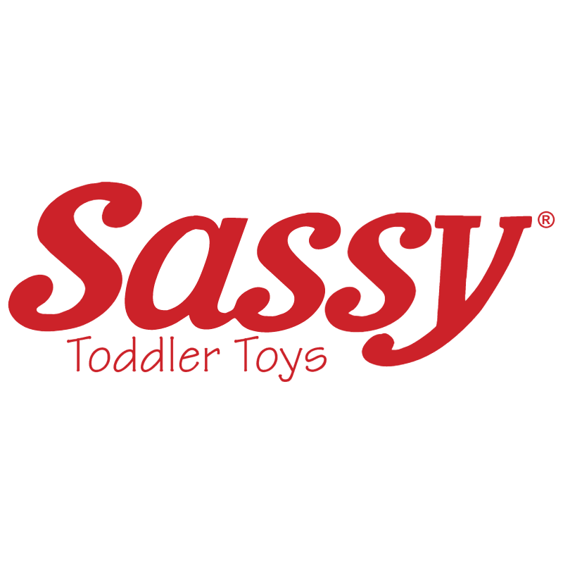 Sassy Toddler Toys vector