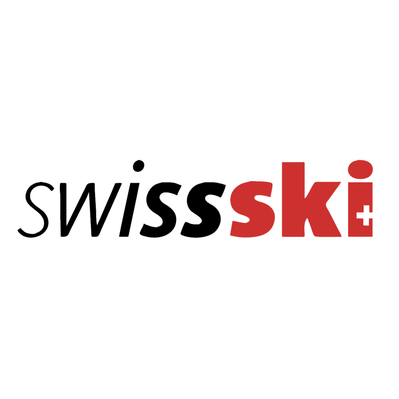 Swiss Ski vector