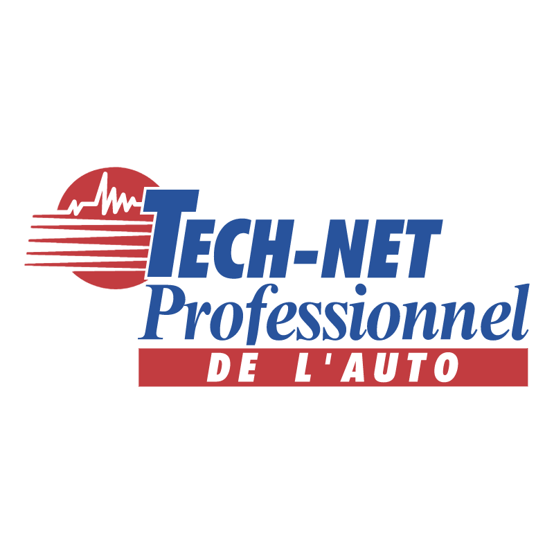 Tech Net Professionnel De L'Auto vector