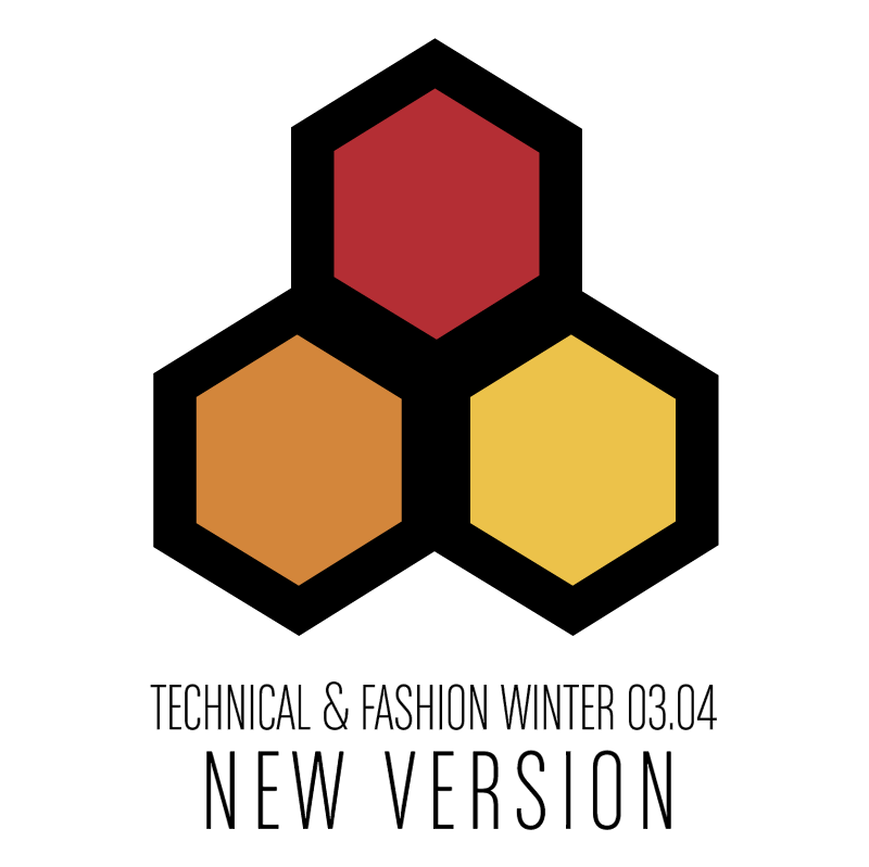 Technical & Fashion Winter vector logo