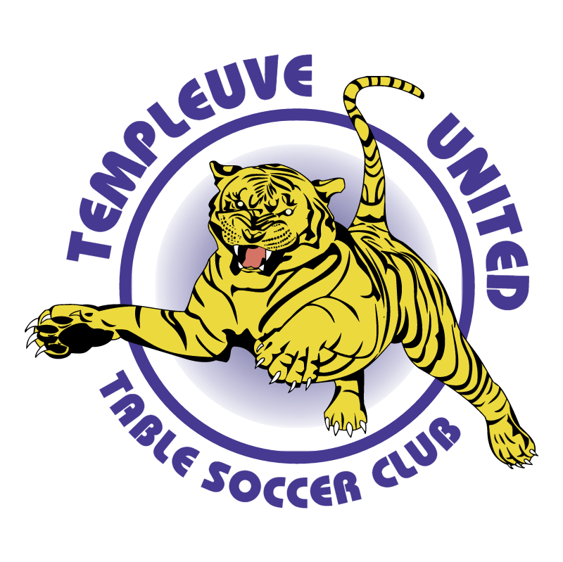 Templeuve United Table Soccer Club vector logo