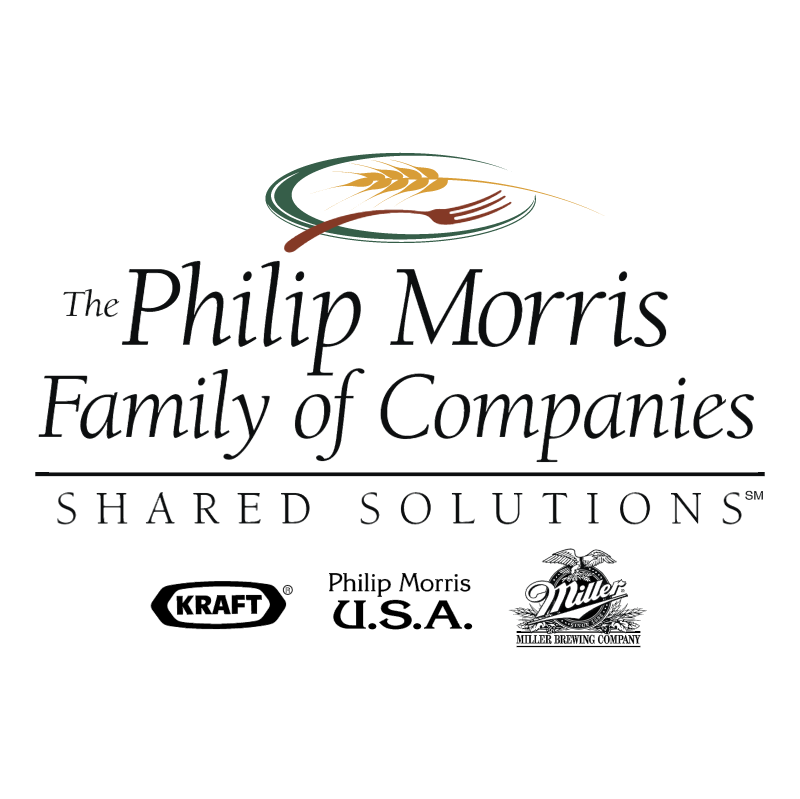 The Philip Morris Family of Companies vector