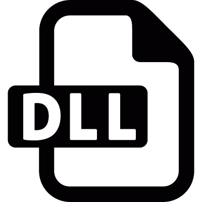 DLL file vector logo