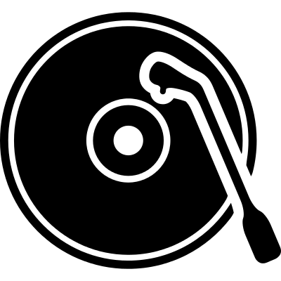 Old Record Player logo