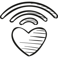 Caring bridge logo