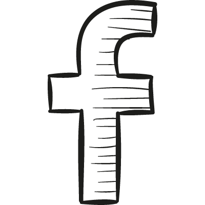 facebook drawn logo logo