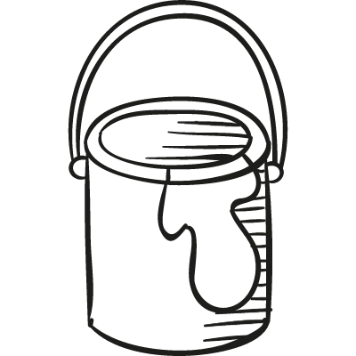 Paint Bucket vector logo