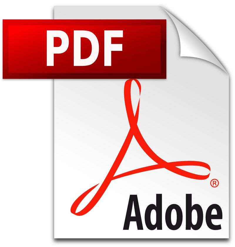 PDF icon vector logo