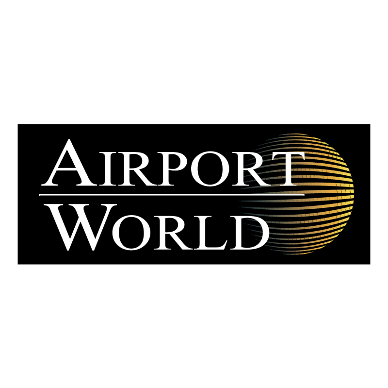Airport World vector logo