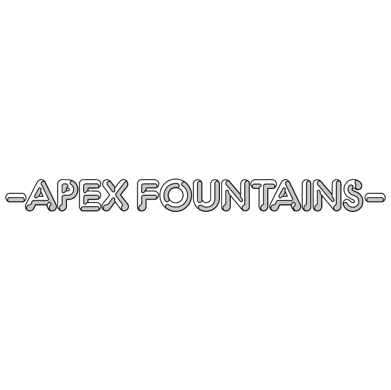 Apex Fountains vector