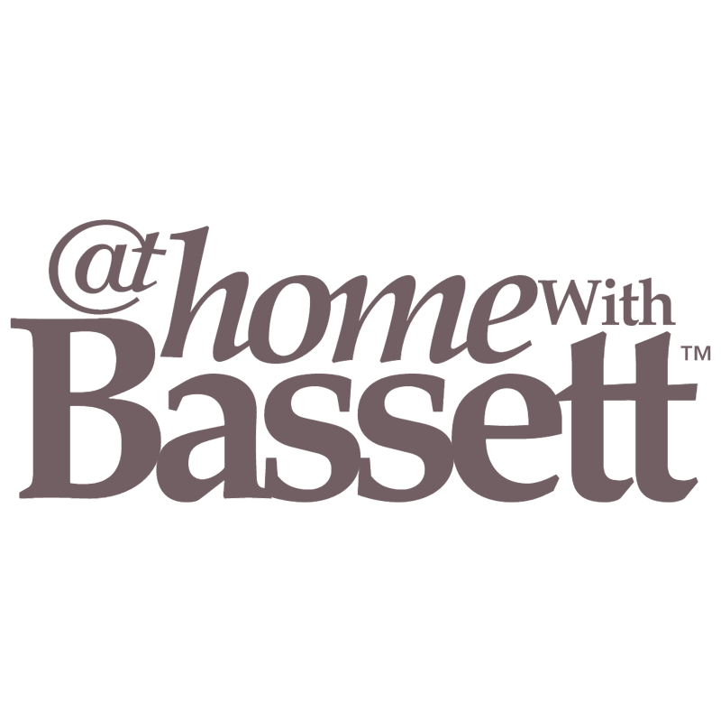 At Home With Bassett vector