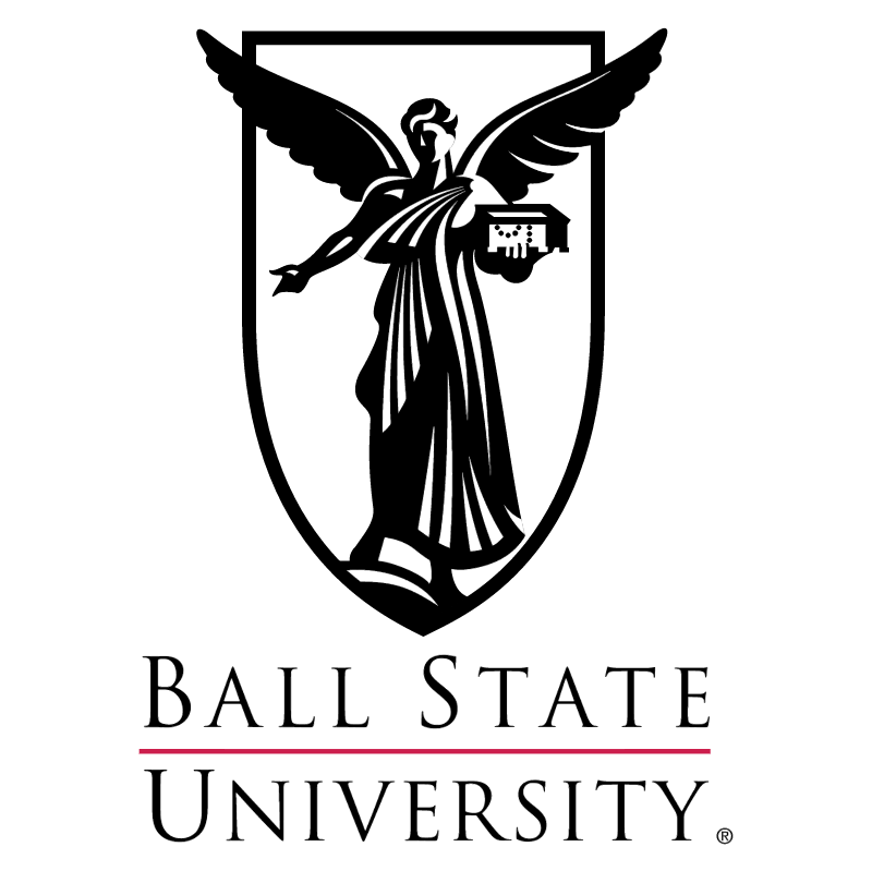 Ball State University vector logo