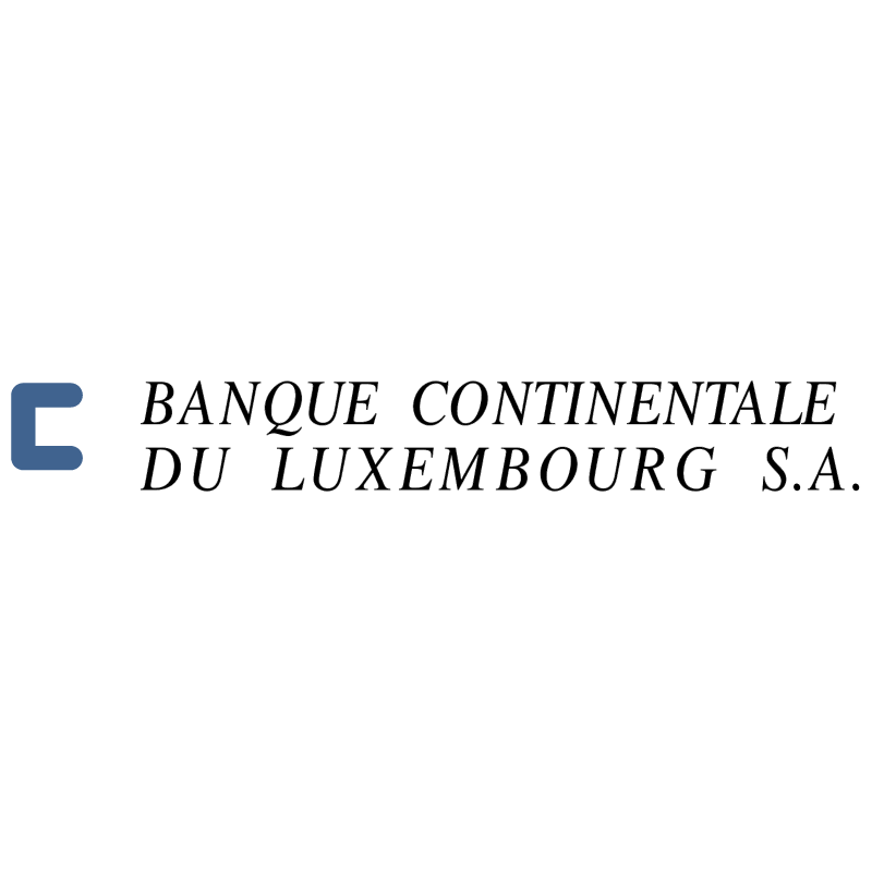 Banque Continentale du Luxembourg SA 31318 vector