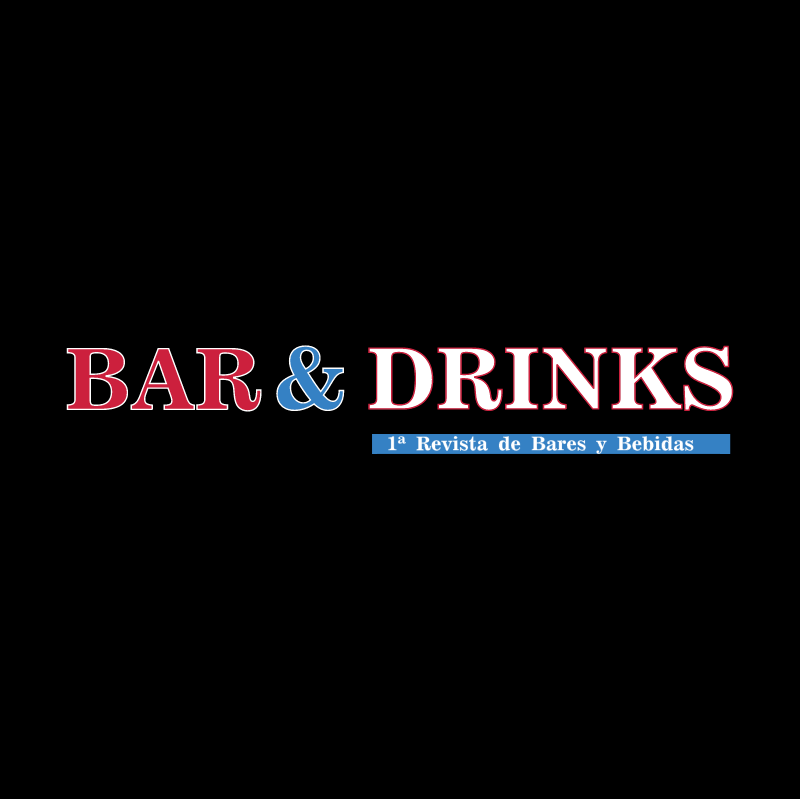Bar & Drinks vector