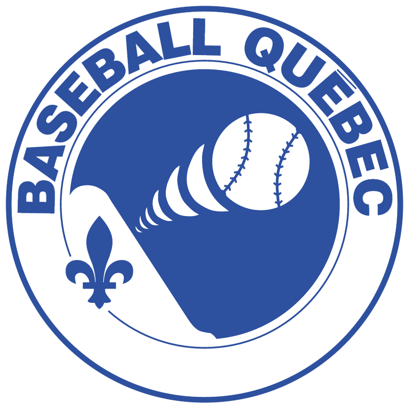Baseball Quebec 832 vector logo