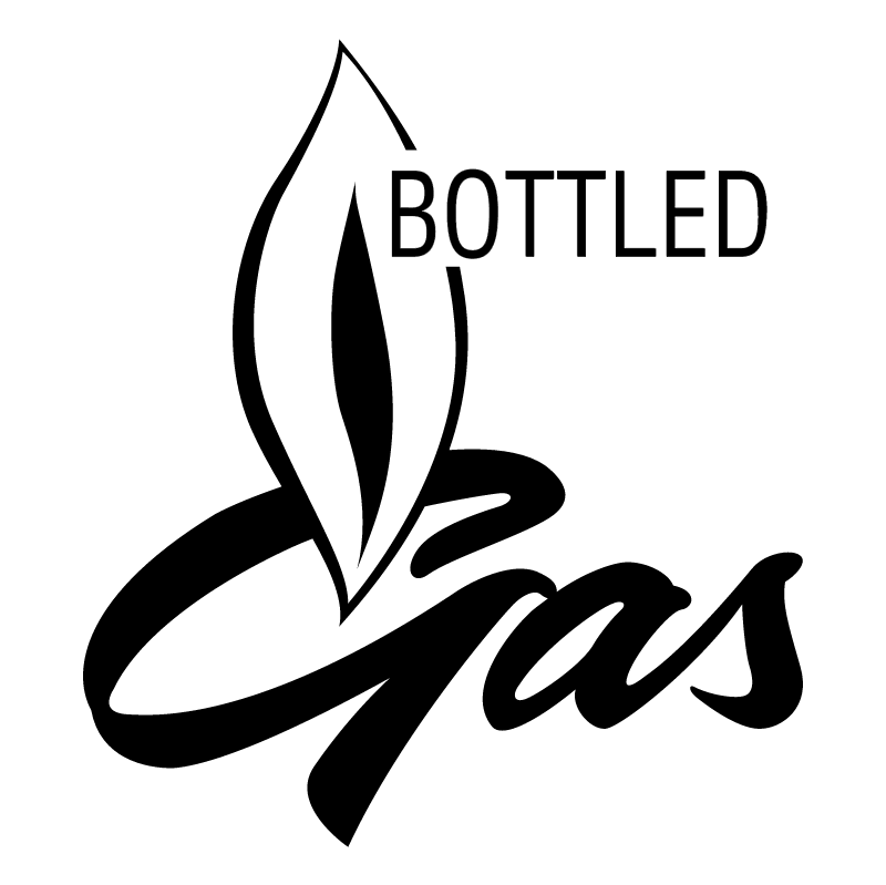 Bottled Gas vector