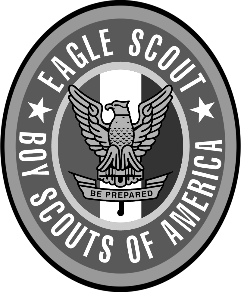 Boy Scouts Eagle Scout vector logo