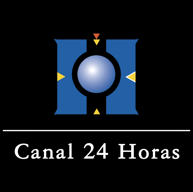 Canal 24 Horas TV vector logo