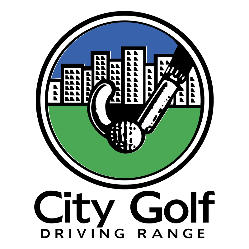City Golf Driving Range vector