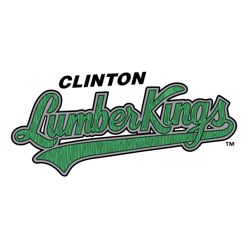 Clinton LumberKings vector